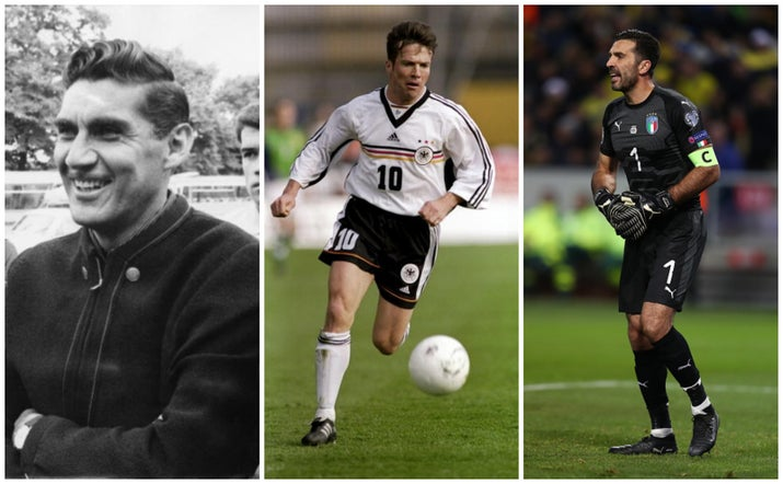 The three of them have been involved in five World Cups each.
