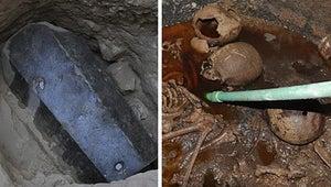 ¿Recuerdan ese misterioso sarcófago de 2,000 años de antigüedad que todos querían abrir? LO ABRIERON.