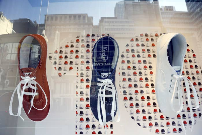Michigan is suing Wolverine World Wide of Rockford, Michigan, which owns the company that makes Keds.