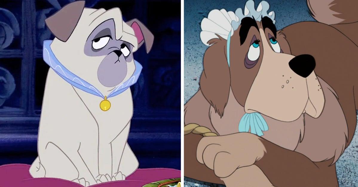¿Puedes reconocer la película de Disney por su perrito?