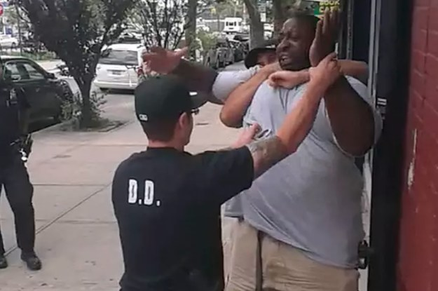 A Cop Involved In Eric Garner's Death Is Facing His First Disciplinary Charges 4 Years Later