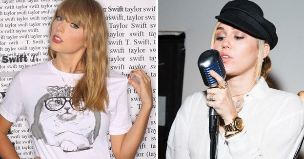 Miley Cyrus Just Threw Shade At Taylor Swift And I'm Not Here For It. At All.