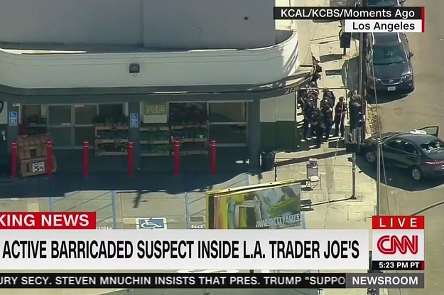 A Woman Was Shot And Killed Inside A Trader Joe's In Los Angeles Where A Man Barricaded Himself For Hours