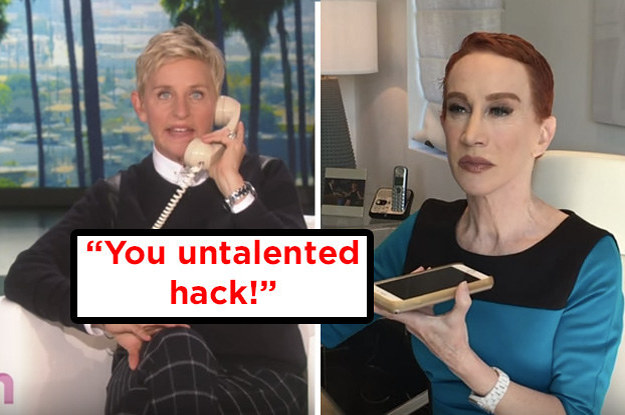 Ellen DeGeneres And Kathy Griffin Got Into A Big Fight On The Phone, And Here's What Went Down