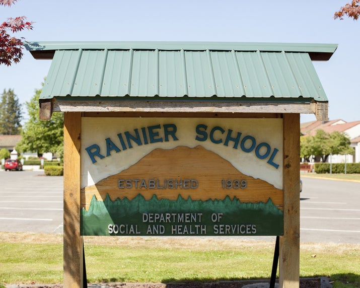Rainier School in Washington.