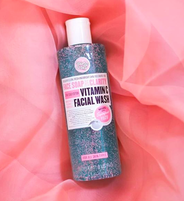 """It also smells like a swanky spa thanks to a combination of chamomile, mint, natural sage, eucalyptus, and lemongrass oils. Promising review: """"Soap & Glory is AMAZING — a yummy-smelling, wonderful, healthy, safe skincare line that actually WORKS! I actually look forward to washing my face with this stuff. My friend has been using it too, and she says her skin has cleared up after only about two weeks of use."""" —KatieGirlPrice: $8.79 (originally $10.99)"""