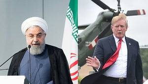 Trump Has Told Iran Not To Threaten The US, And Oh Man, He's Got The Caps Lock On