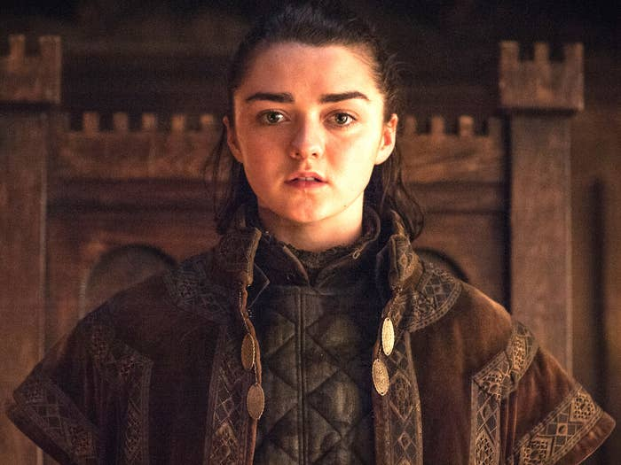 *Sniffle* My lil' murderous Arya, ALL GROWN UP.