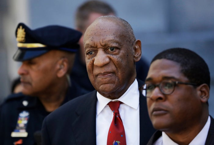 Bill Cosby arrives for his trial April 26.