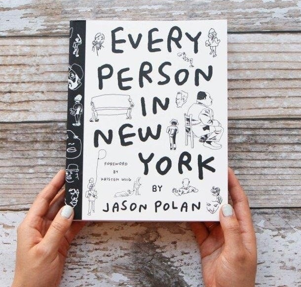 "Promising review: ""Yo, this book is straight-up inspiration. So powerful and so moving! Looking at people and observing is key to any creative process. This book is a beautiful thing because it is a pure celebration of that basic human thing — looking at people."" —T. Selby Get it from Amazon for $16.95."