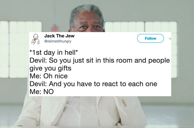 17 Hilarious Tweets About Getting Into Heaven Or Hell