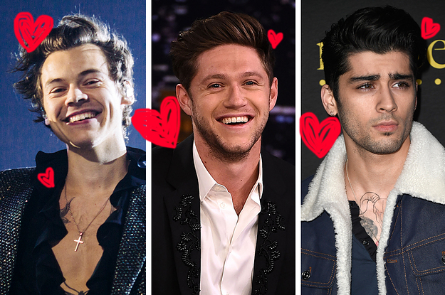 Who are the band members of one direction dating quiz