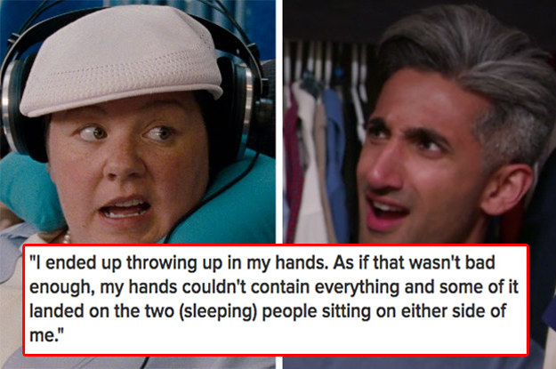 16 Embarrassing Plane Horror Stories That'll Make You Never