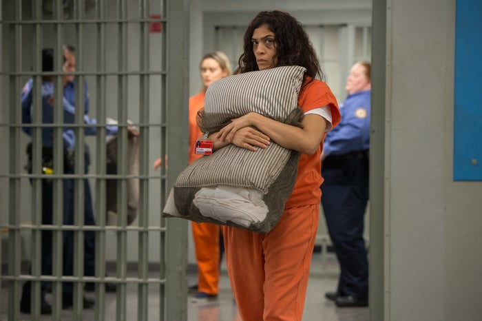 Laura Gómez as Blanca in Season 6 of Orange Is the New Black.