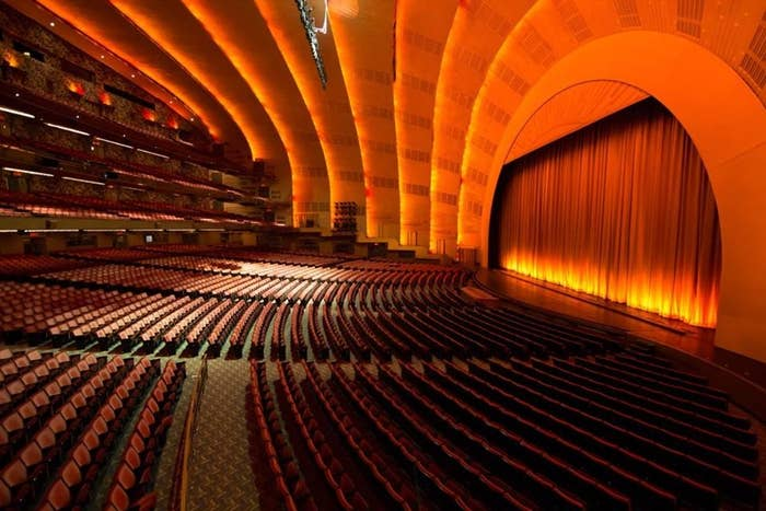 Check out more info about Radio City Music Hall.Location: New York, NYSome upcoming shows to check out: Ringo Starr and His All Starr Band(September 13th — tickets starting at $59 on Ticketmaster, or check StubHub or SeatGeek for re-sale tickets)Christina Aguilera: The Liberation Tour(October 3rd — tickets starting at $39 on Ticketmaster, or StubHub or check SeatGeek for re-sale tickets)(October 4th — tickets starting at $59 on Ticketmaster, or check StubHub or SeatGeek for re-sale tickets)Troye Sivan: The Bloom Tour(October 9th — tickets starting at $65 on Ticketmaster, or check StubHub or SeatGeek for re-sale tickets)
