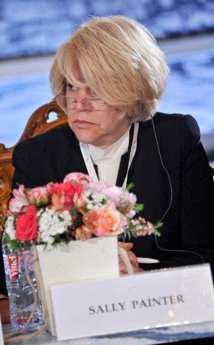 Atlantic Council board member Sally Painter.