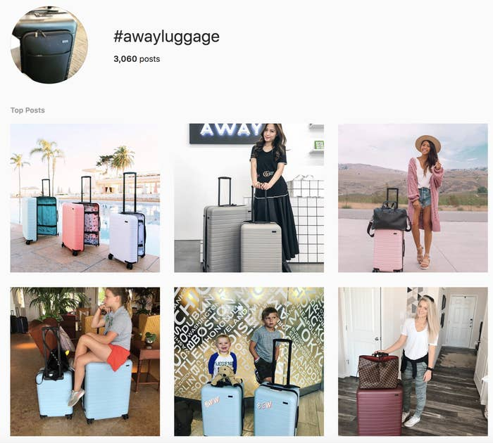 cb596529aab4 I Tried That Away Luggage All Over Instagram And Here s What Happened