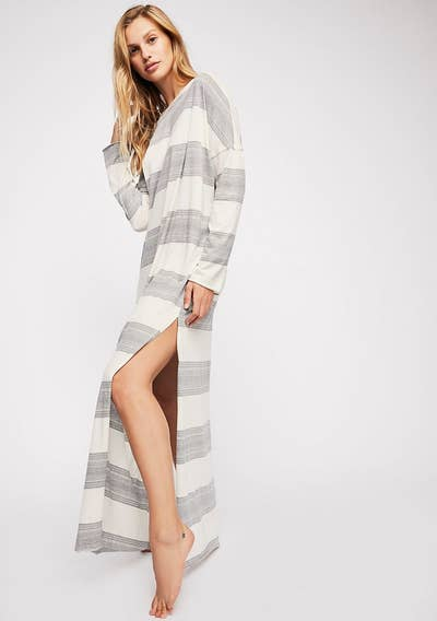 bcca36135ff A striped maxi dress that ll feel like wrapping yourself in your favorite  summer blanket.