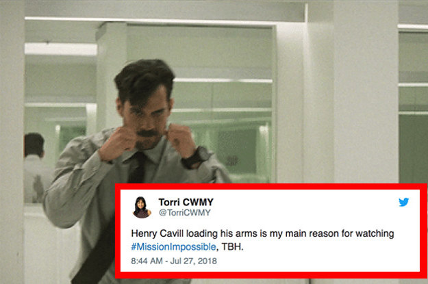 Henry Cavill's Arm Reload In