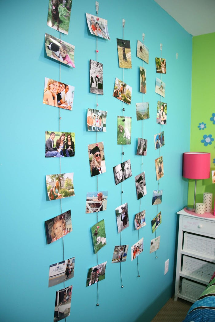 My Mighty Magnet provides a smart and creative solution to display those cherished memories from the high school days or showcase their college friends.Easily hang photos, make collages and say goodbye to those space-hogging picture frames and clutter! Simply hang the cable, display the item and place the decorative, super strong Mighty Magnet in place.My Mighty Magnet avoids damaging the dorm room walls. By using a command hook, there are no holes in the walls and you'll never use tape, nails or staples. This leaves the end of the year dorm room walls just like the student found it at the beginning of the year.