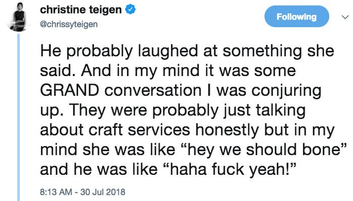 Chrissy Teigen Just Revealed The