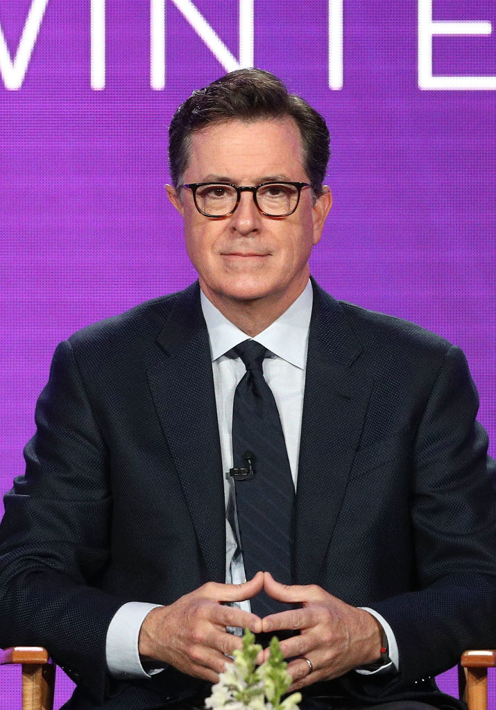 Stephen Colbert, host of the  The Late Show,  directly addressed the sexual harassment allegations levied against his boss, Les Moonves, on Monday night, as an example of what the #MeToo movement at large is about.