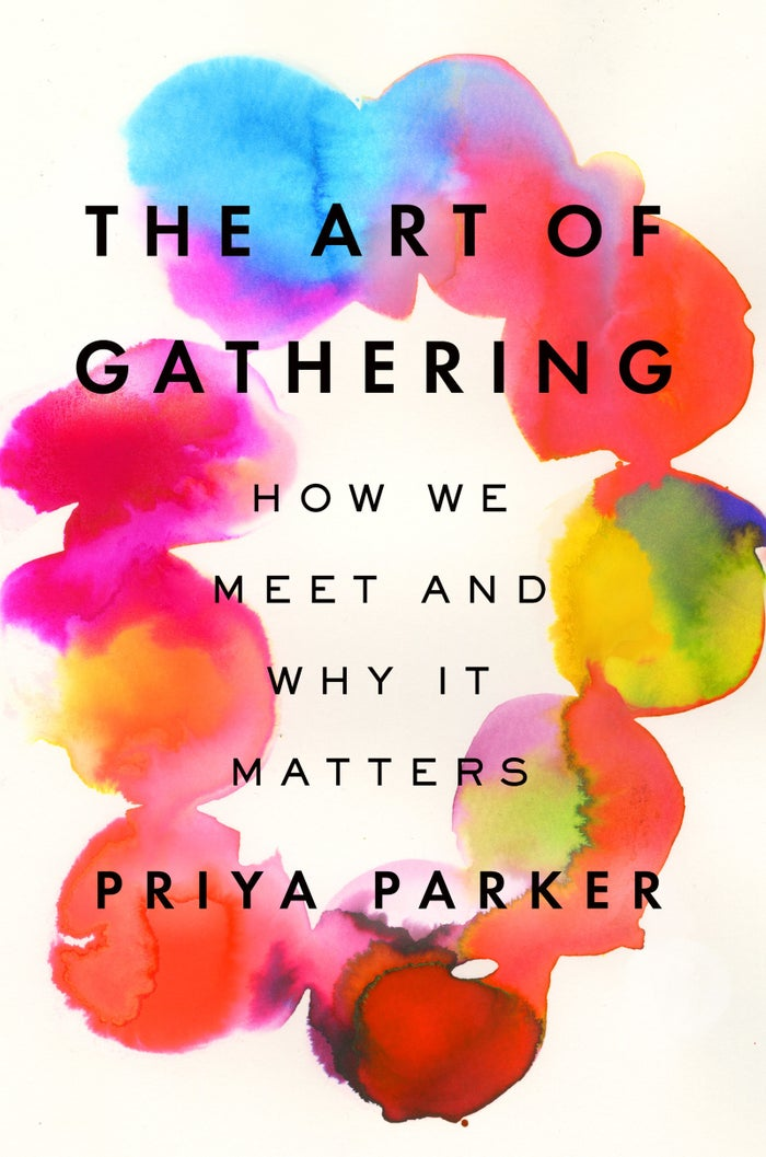 """Promising review: """"I love this book. It speaks to my heart and soul. And I hope many will read it to experience better meetings, parties, and conferences. Priya Parker has the rare combination of a solid academic background, professional (mediation) experience, and intuition that enables her to analyze gatherings in a way I've never seen before. The lessons she draws from her observations are invaluable and she manages to translate them into clear how-tos for anyone wanting to host or manage friends, family, or their team. Bravo."""" —Nora Price: $14.99+"""