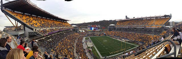 """They don't call it the """"City of Champions"""" for nothing. On the collegiate and pro levels, Pittsburgh has big-time sports traditions (and fan bases) to rival any city in America. The hub of Pittsburgh sports, the North Shore district, boasts two of the country's most scenic professional sports stadiums."""