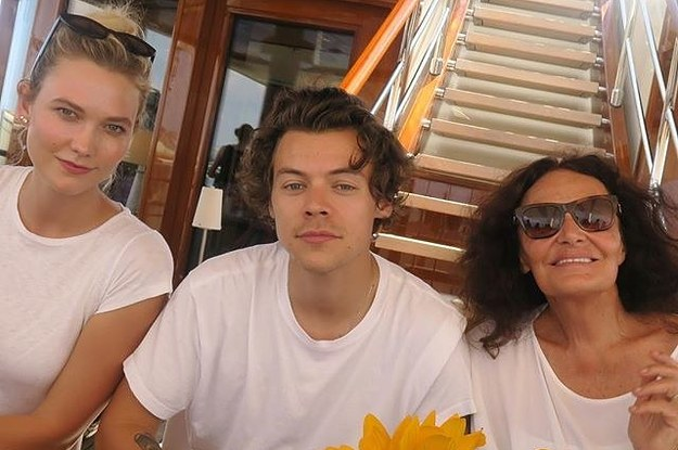 Karlie Kloss And Harry Styles Hung Out And I Need To Know If They Talked About T...