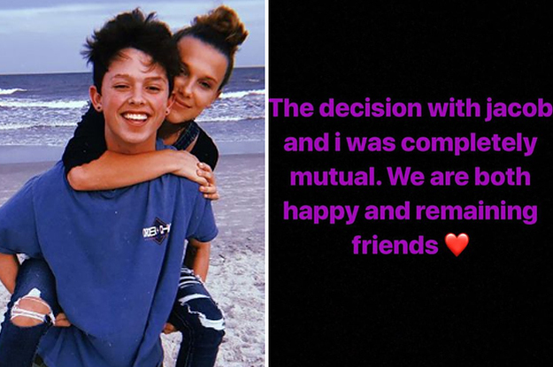 Millie Bobby Brown And Jacob Sartorius Have Broken Up, In Case You ...