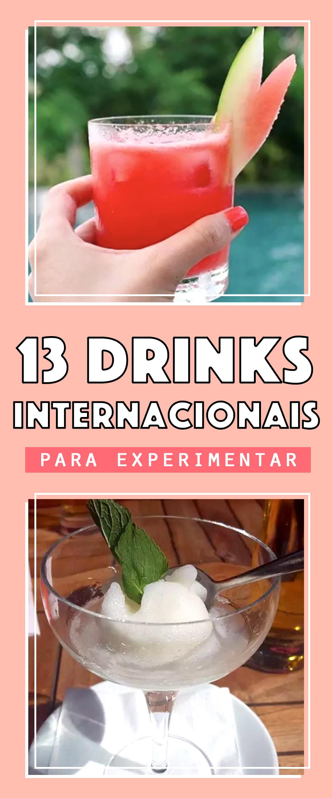 13 drinks diferentões que podem parecer meio estranhos, mas são deliciosos