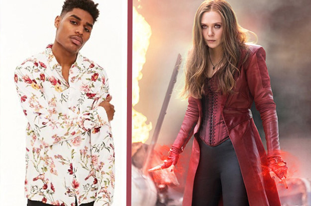 Buy Some Clothes And We'll Reveal Which Marvel Character You Truly Are
