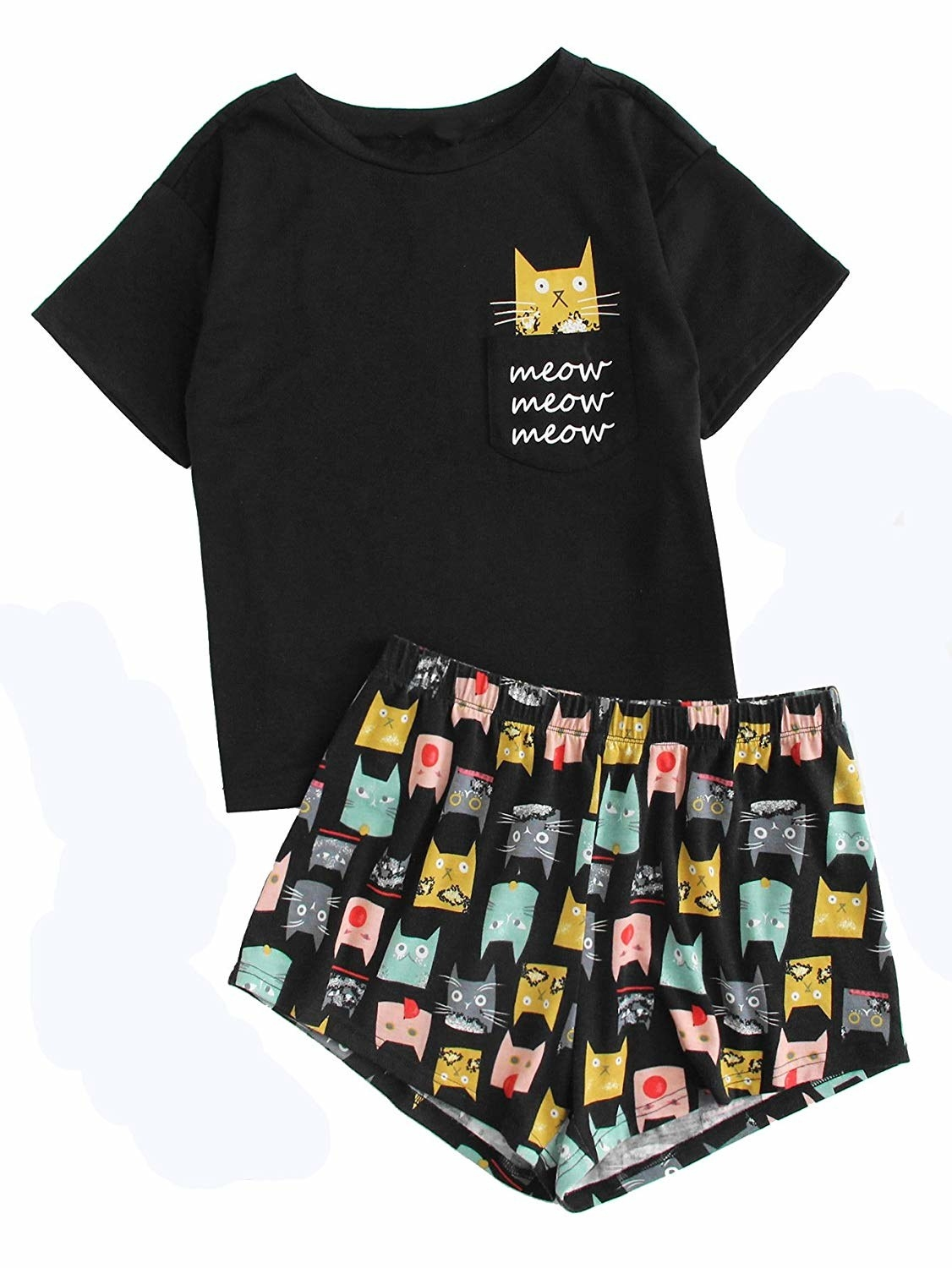 1c74a1423f519 Some unbelievably adorable PJs that are the cat s pajamas and so cute it s  bananas. They come in tons of other aww-worthy designs