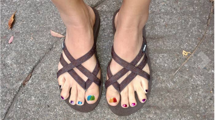 231a39d0ce32 Promising review   quot I absolutely love my Teva flip-flops. I liked