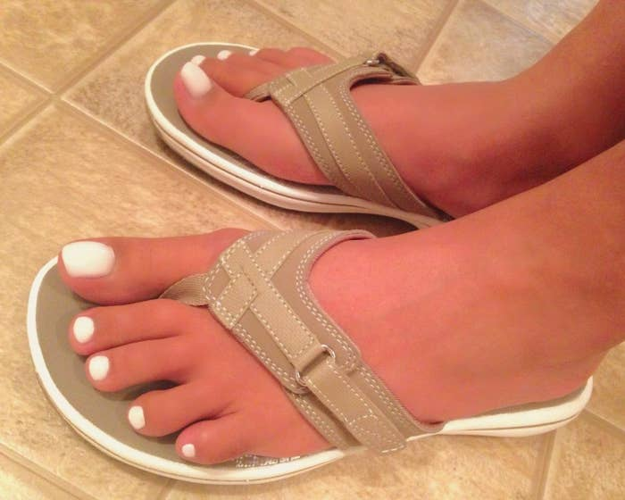 42e28e45d891 Flip-flops featuring an adjustable strap you simply won t want to take off. Promising  review  ...