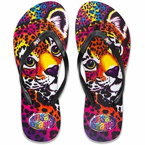 e7336e9c2b00 And Lisa Frank flip-flops for anyone who wants to live out their  11-year-old outfit goals as a full grown adult. Promising review   quot These  are ...