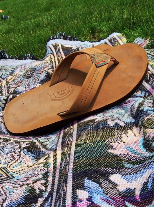 f68197daf7e Leather flip-flops designed to last you years of use. They will mold to  your feet and fit like a glove!