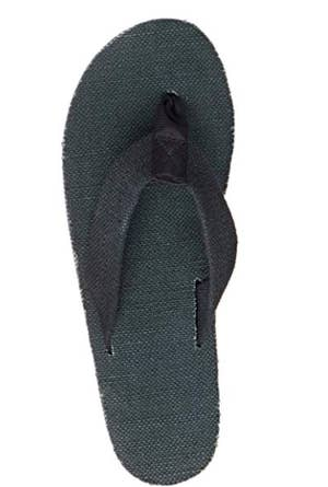 d2347947128f Rainbow flip-flops made of hemp (as opposed to leather) meant to survive  the roughest wear and tear a little flop can go through.