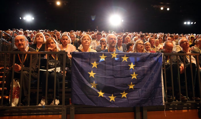 Delegates at the Liberal Democrat conference last year.