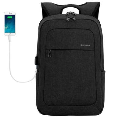 d657282840 And a sleek-as-hell laptop backpack that looks great on humans of all  heights and features a whopping 17 compartments and built-in USB port.