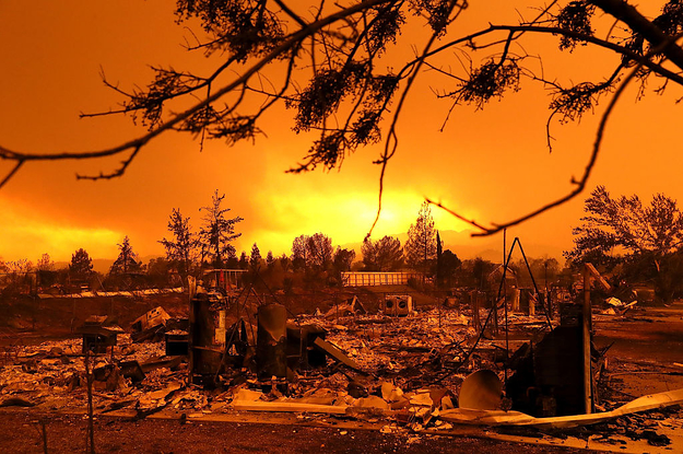 How A Booming Population And Climate Change Made California's Wildfires Worse Than Ever