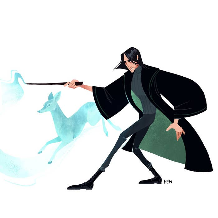 You Need To See These Incredible Harry Potter Illustrations Fan