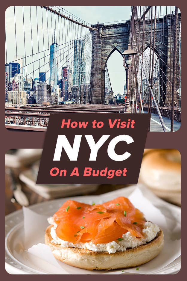 How To Experience The Best Of NYC On $50 A Day