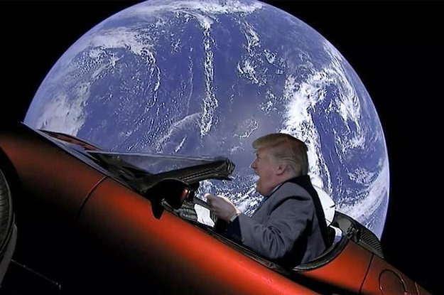 """Trump Just Announced A """"Space Force"""" And People Want To Know Where ..."""