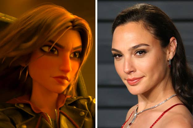 Gal Gadot Is Shank In Wreck It Ralph 2 Aka The Disney Street Racer Heroine You Didn T Know You Needed