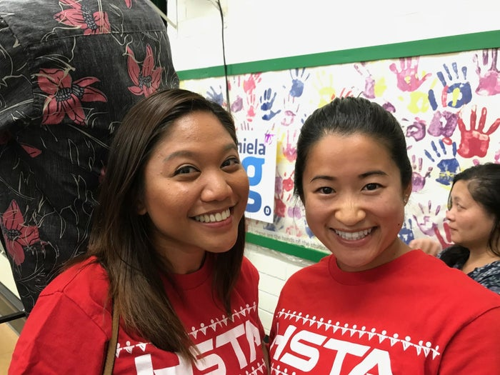 Chelsie Salvatera and Lisa Matsukata, who are both teachers and age 26.