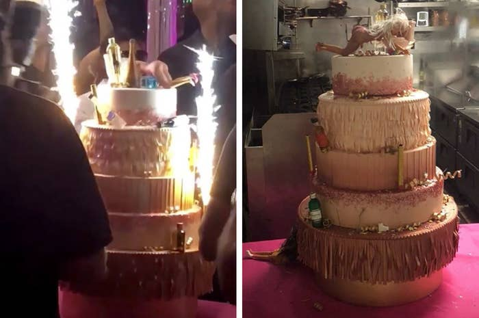 Seen Jenners 21st Birthday Cake Oror