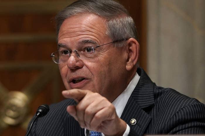 New Jersey Sen. Robert Menendez