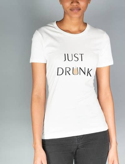 bef161044c4 30. A T-shirt duo to get if you or your BFF is in a drunk in love romantic  relationship