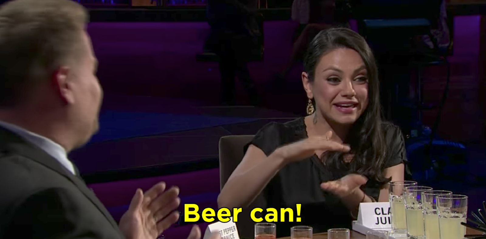 She said beer can
